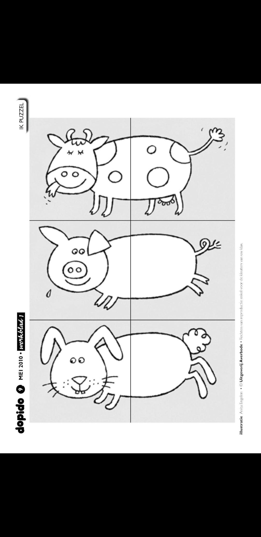 Animali della fattoria 1